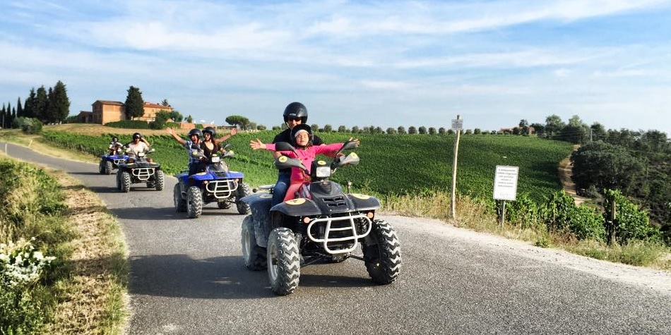 Super fun ATV excursion in Tuscany
